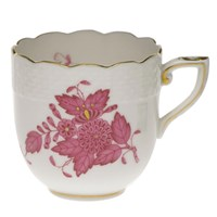 Herend Chinese Bouquet Raspberry Demitasse Cup