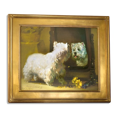 Close Encounter Westie Mirror Giclee