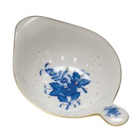 Herend Chinese Bouquet Blue Tea Strainer