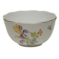 Herend Antique Iris Round Bowl