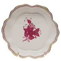 Herend Chinese Bouquet Raspberry Fruit Bowl, Medium