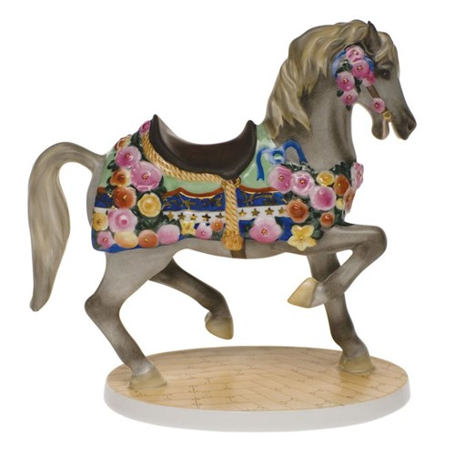 Herend Carousel Horse Natural