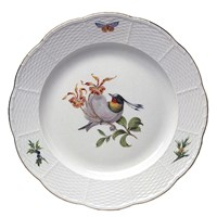 Meissen Bird Bread & Butter Plate