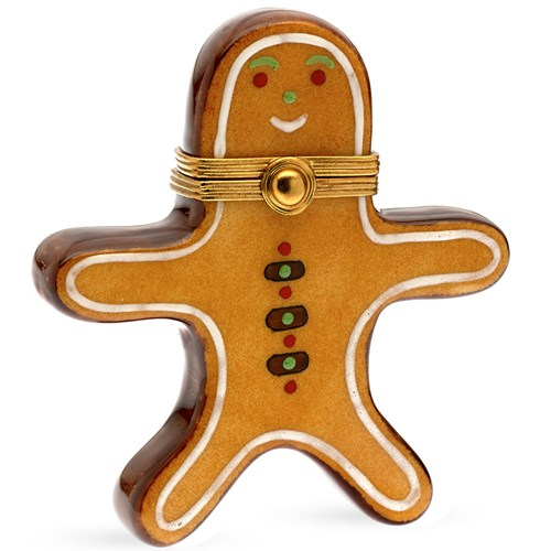 Gingerbread Man Limoges Box