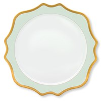 Anna Weatherley Aqua Green Palette Charger / Presentation Plate