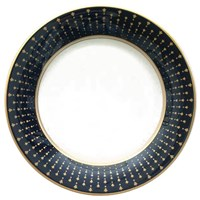 Pickard Galaxy White Oversized Dinner Plate