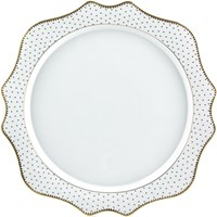 Anna Weatherley Simply Anna Antique Polka Charger / Presentation Plate