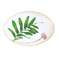 Bernardaud Jardin Indien Oval Platter, Medium
