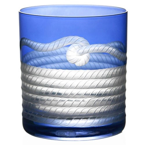 Artel Rope Double Old Fashioned, Blue