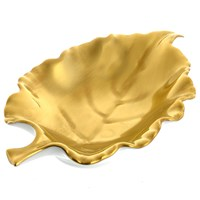 William Yeoward Gold Leaf Dish, Carine (Gladiulus)