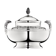 Christofle Malmaison Silverplated Caviar Server