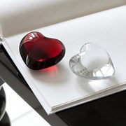 Baccarat Crystal Puffed Heart