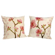 Apple Blossom Tapestry Pillows