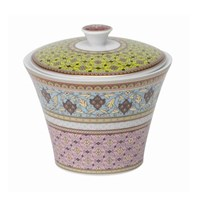 Philippe Deshoulieres Ispahan Covered Sugar Bowl