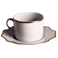 Anna Weatherley Simply Anna Antique Polka Tea Saucer