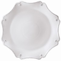 Juliska Berry & Thread Whitewash Scalloped Dessert / Salad Plate