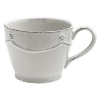 Juliska Berry & Thread Whitewash Tea / Coffee Cup