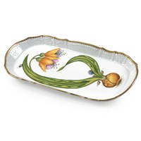 Anna Weatherly Orchid Sandwich Tray