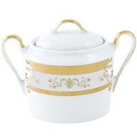 Philippe Deshoulieres Orsay White Covered Sugar Bowl