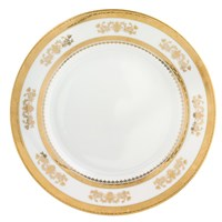 Philippe Deshoulieres Orsay White Round Cake Plate