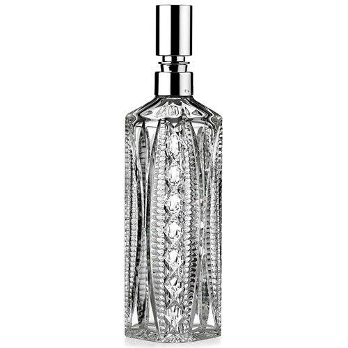 Crystal and Silverplate Square Decanter