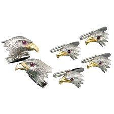 Eagle Cufflinks and Studs