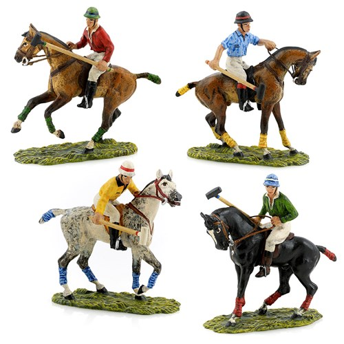 Austrian Bronze Polo Players