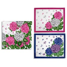 Hydrangeas Placemats and Tablecloth