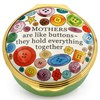 "Halcyon Days ""Mothers are Like Buttons"" Enamel Box"