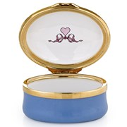 "Halcyon Days ""Happiness is Being Married to my Best Friend"" Enamel Box"