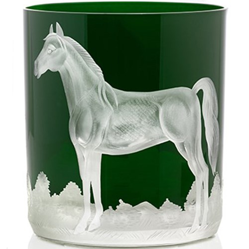Artel Horse Double Old Fashioned, British Racer Green