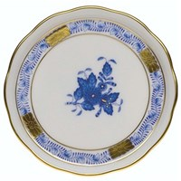 Herend Chinese Bouquet Blue Coaster