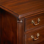 Chippendale Style Mahogany Bedside Chest