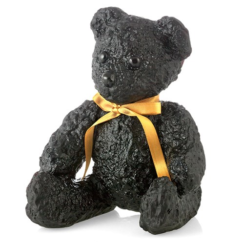 Daum Crystal Large Black Teddy Bear