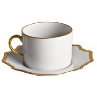 Anna Weatherley Antique White with Gold Tea Cup