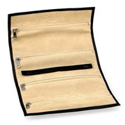 Calfskin Travel Jewel Roll with Suede Lining (Assorted Colors)