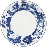 Mottahedeh Blue Canton Contemporary Charger / Presentation Plate