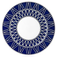 Royal Limoges Blue Star Dinner Plate
