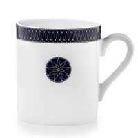 Royal Limoges Blue Star Mug