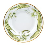 Anna Weatherley White Tulips Rim Soup Bowl
