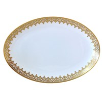 Bernardaud Venise Oval Platter, Medium