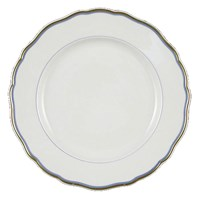 Meissen Light Blue Band Plate, Small