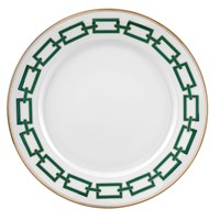Ginori Impero Catena Emerald Dinner Plate