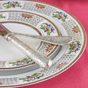 Christofle Jardin d'Eden Sterling Silver 5-Piece Place Setting
