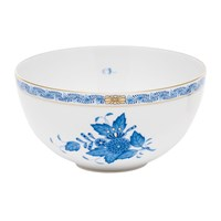Herend Chinese BouquetBlue High Bowl, Small
