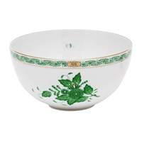 Herend Chinese Bouquet Green Bowl, Small