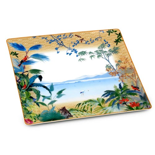 Bernardaud Tropiques Rectangular Tray