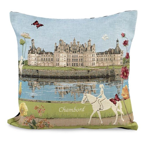 Flowered Chateau Pillows
