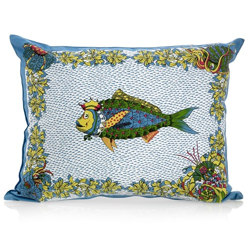 Aquarius Fish Pillow, Multi-Color