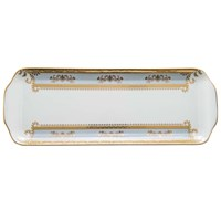 Philippe Deshoulieres Orsay Powder Blue Rectangular Cake Platter